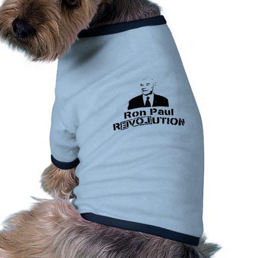 Ron Paul Merchandize Doggie Shirt