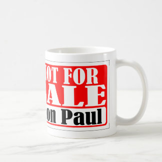 Ron Paul Not For Sale Mug