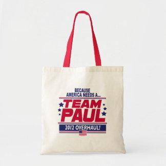 Ron Paul Overhaul Tote Bags