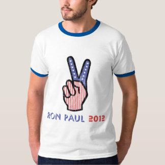 Ron Paul Peace 2012 T-Shirt