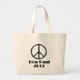 Ron Paul Peace Sign Bags