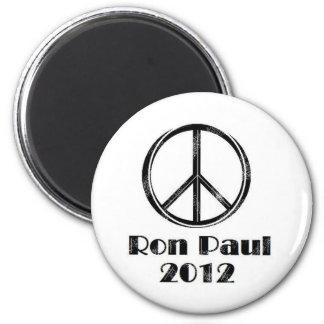 Ron Paul Peace Sign Fridge Magnet