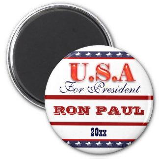 Ron Paul president 2012 CUSTOMIZE 6 Cm Round Magnet