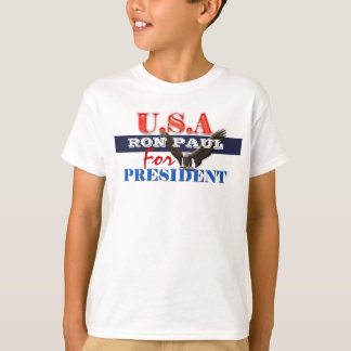 Ron Paul president 2012 CUSTOMIZE T-Shirt