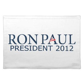Ron Paul President 2012 Place Mats