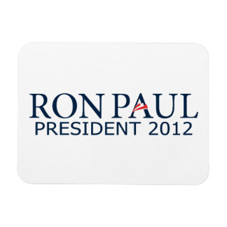 Ron Paul President 2012 Rectangular Photo Magnet