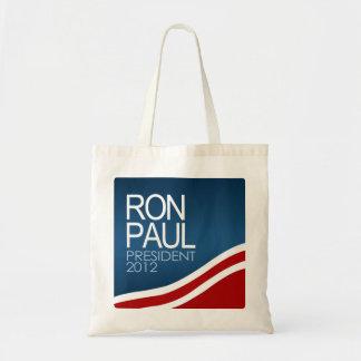 Ron Paul President 2012 Budget Tote Bag