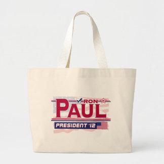 Ron Paul President 2012 Jumbo Tote Bag