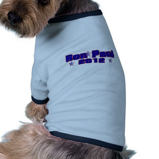 Ron Paul Presidential Star Dog Shirt