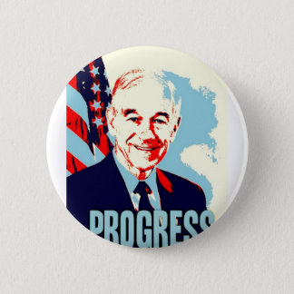 Ron Paul Progress 6 Cm Round Badge