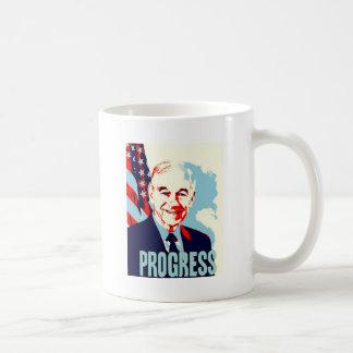 Ron Paul Progress Basic White Mug