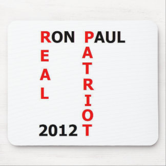 Ron Paul Real Patriot 2012 Mouse Pad