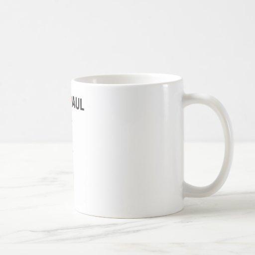 Ron Paul Real Patriot 2012 Coffee Mugs