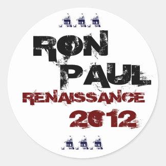 Ron Paul Renaissance 2012 sticker