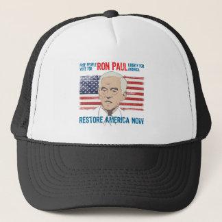 Ron Paul restore America Trucker Hat