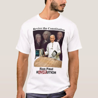 Ron Paul: revive the constitution T-Shirt