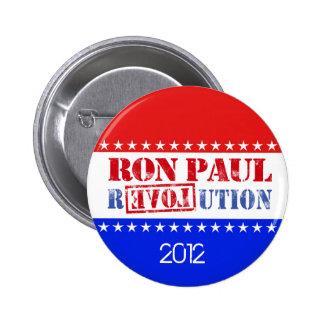 Ron Paul Revolution 2012 6 Cm Round Badge