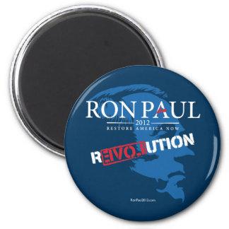 Ron Paul Revolution 2012 6 Cm Round Magnet