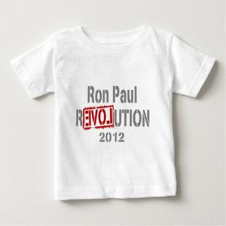 Ron Paul Revolution 2012 Baby T-Shirt