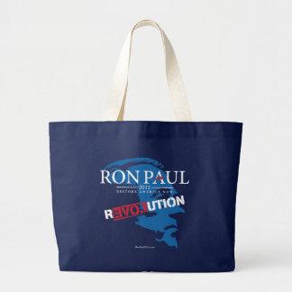 Ron Paul Revolution 2012 Canvas Bag
