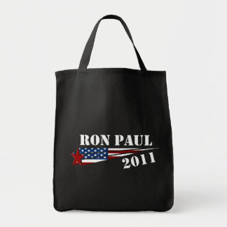 Ron Paul Revolution 2012 Grocery Tote Bag