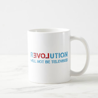 Ron Paul revolution Basic White Mug