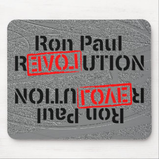 Ron Paul Revolution Continues Mouse Pad