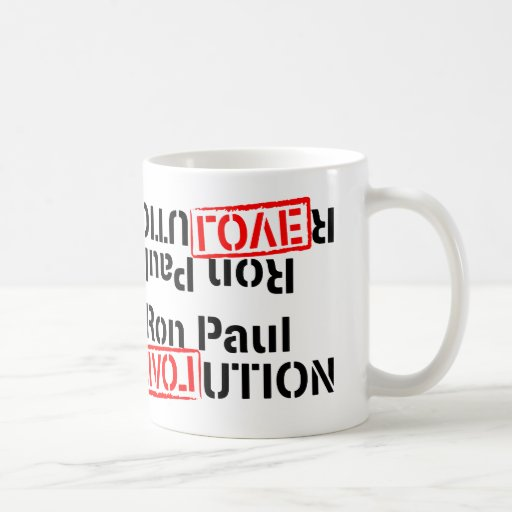 Ron Paul Revolution Continues Mugs