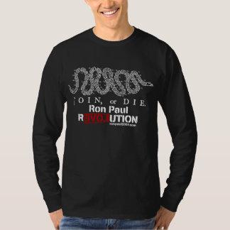 Ron Paul Revolution Dark Shirt - Customized
