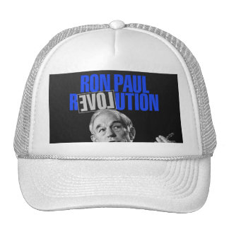 Ron Paul Revolution, For President 2012 Mesh Hats