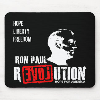 Ron Paul Revolution - Hope For America Mouse Pad