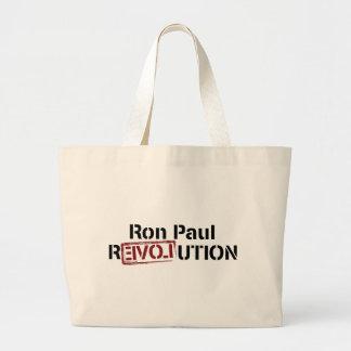 Ron Paul Revolution Jumbo Tote Bag