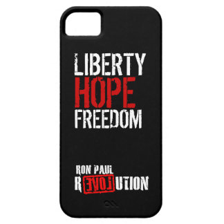 Ron Paul Revolution - Liberty, Hope, Freedom iPhone 5 Cover