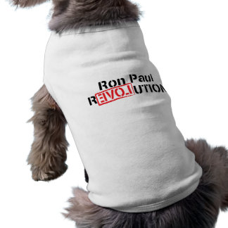 Ron Paul Revolution Pet Clothing