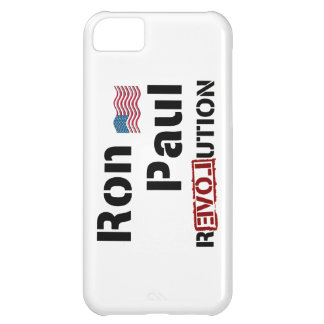 Ron Paul Revolution With American Flag iPhone 5C Case