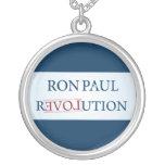 Ron Paul Round Pendant Necklace