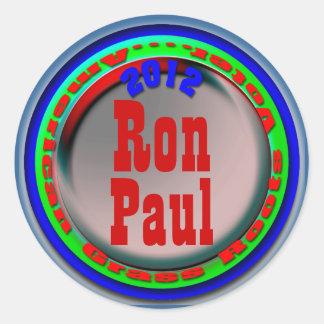 Ron Paul Round Sticker