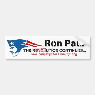 Ron Paul s Campaign for Liberty patriot revolution Bumper Stickers