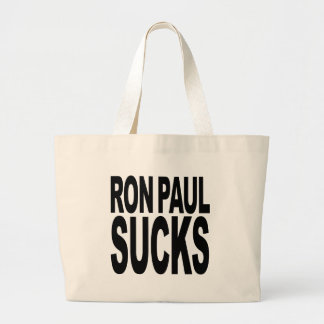 Ron Paul Sucks Jumbo Tote Bag