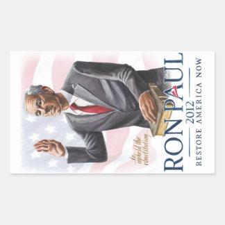 Ron Paul Swears Oath Sticker