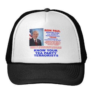 Ron Paul Tea Party Terrorist Republican Texas Trucker Hat