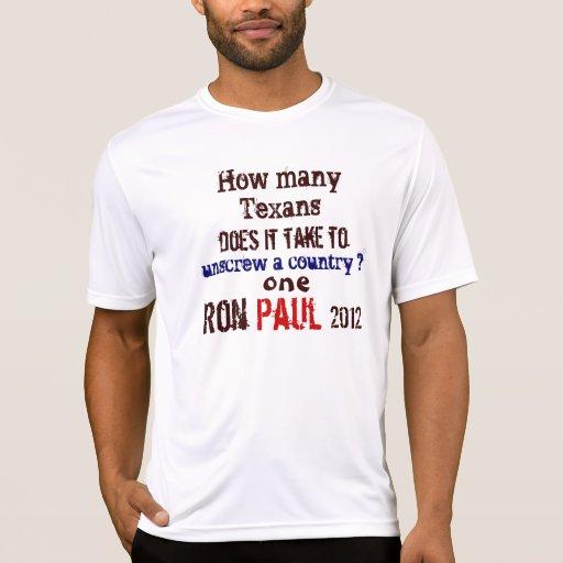 Ron Paul Texan Tshirts