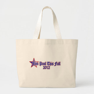Ron Paul This Fall 2012 Canvas Bags
