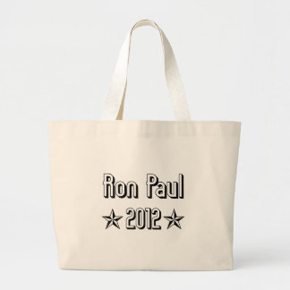 Ron Paul Jumbo Tote Bag