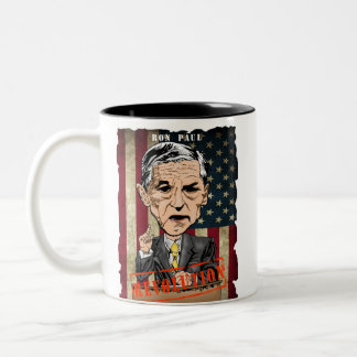 RON PAUL TWO-TONE MUG