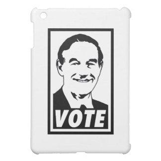 Ron Paul Vote 2012 Black Transparent Cover For The iPad Mini