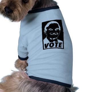 Ron Paul Vote 2012 Doggie T Shirt