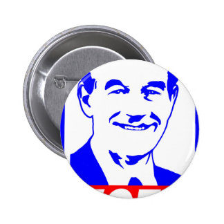 Ron Paul Vote 2012 Red White & Blue Buttons