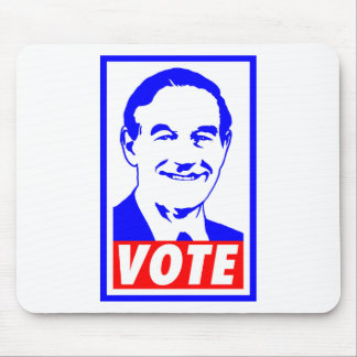 Ron Paul Vote 2012 Red White Blue Mouse Pads