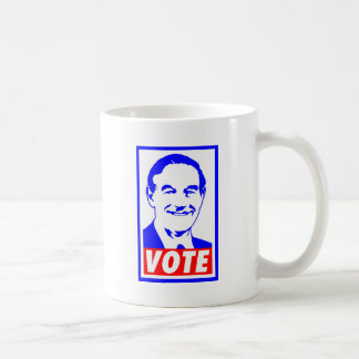 Ron Paul Vote 2012 Red White Blue Coffee Mugs